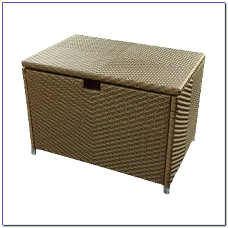 Patio Deck Box Bench