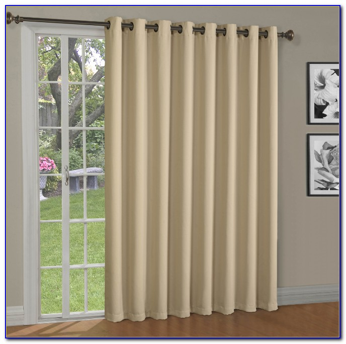 Patio Door Blackout Curtains