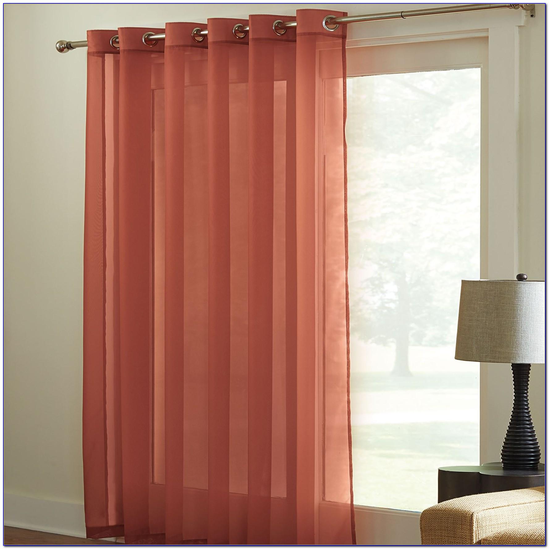 Patio Door Thermal Blackout Curtain Panel