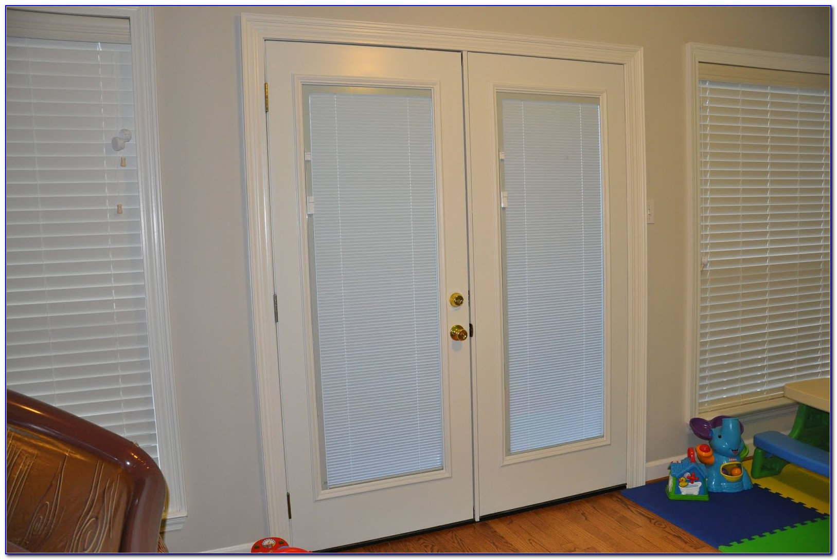 Patio Doors With Blinds Inside The Glass
