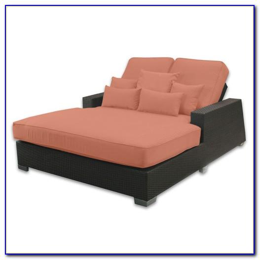 Patio Double Chaise Lounge Cushion