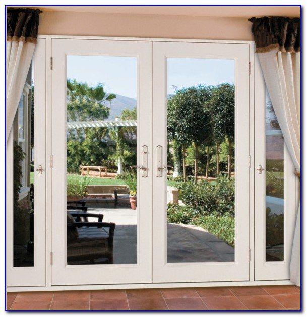 Patio French Doors With Sidelights