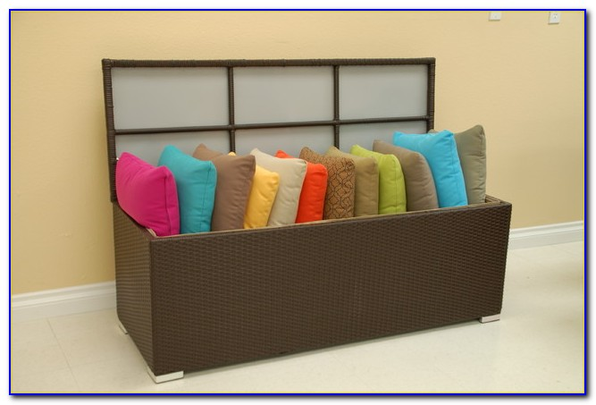 Patio Furniture Cushion Storage Rubbermaid