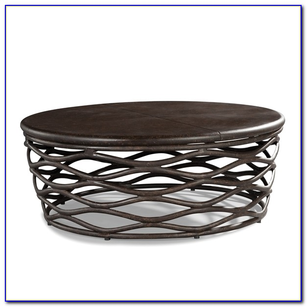 Patio Furniture Round Coffee Table