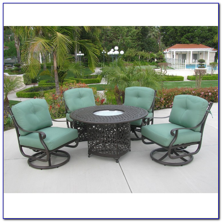 Patio Furniture With Fire Pit Table Canada