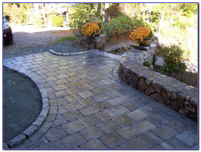 Patio Ideas With Concrete Pavers