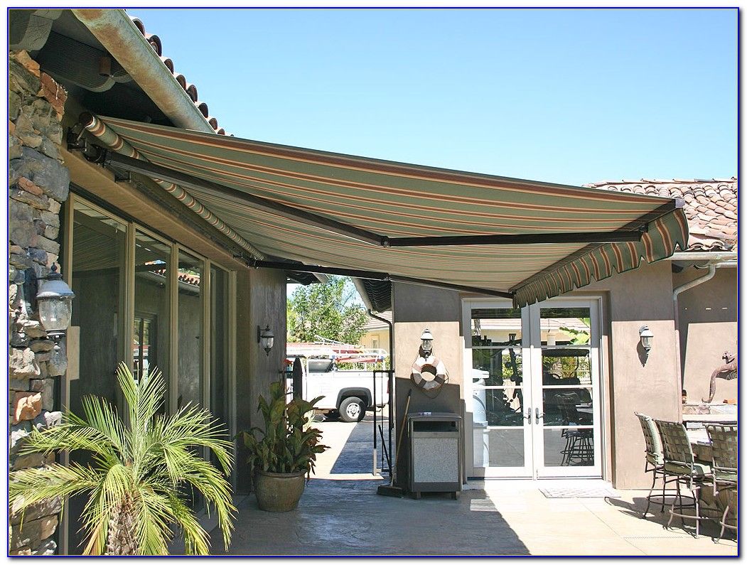 Patio Retractable Awning Ideas