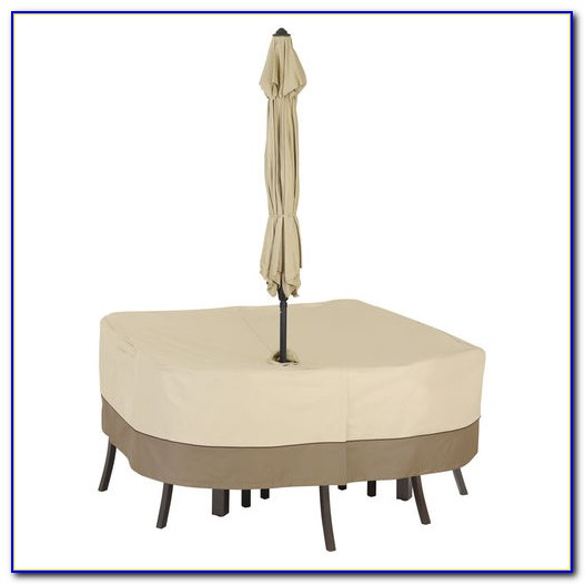 Patio Tablecloth With Umbrella Hole Uk