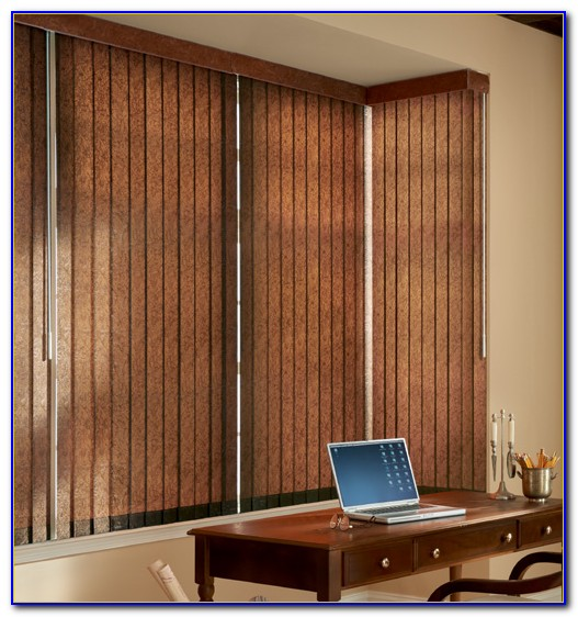 Patio Vertical Blinds Bamboo