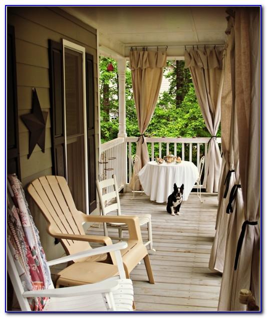 Pinterest Patio Curtain Ideas