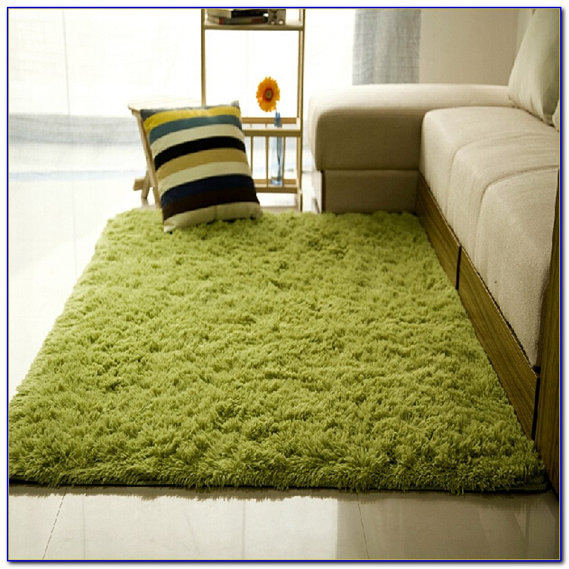 Plush Area Rugs Round