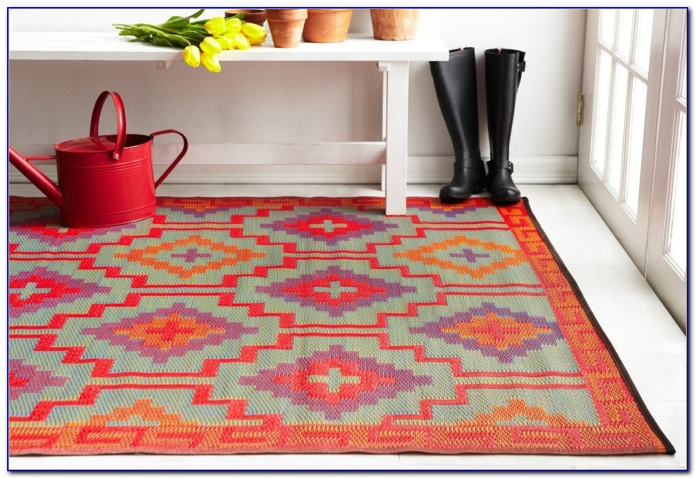 Recycled Plastic Outdoor Rugs 9x12
