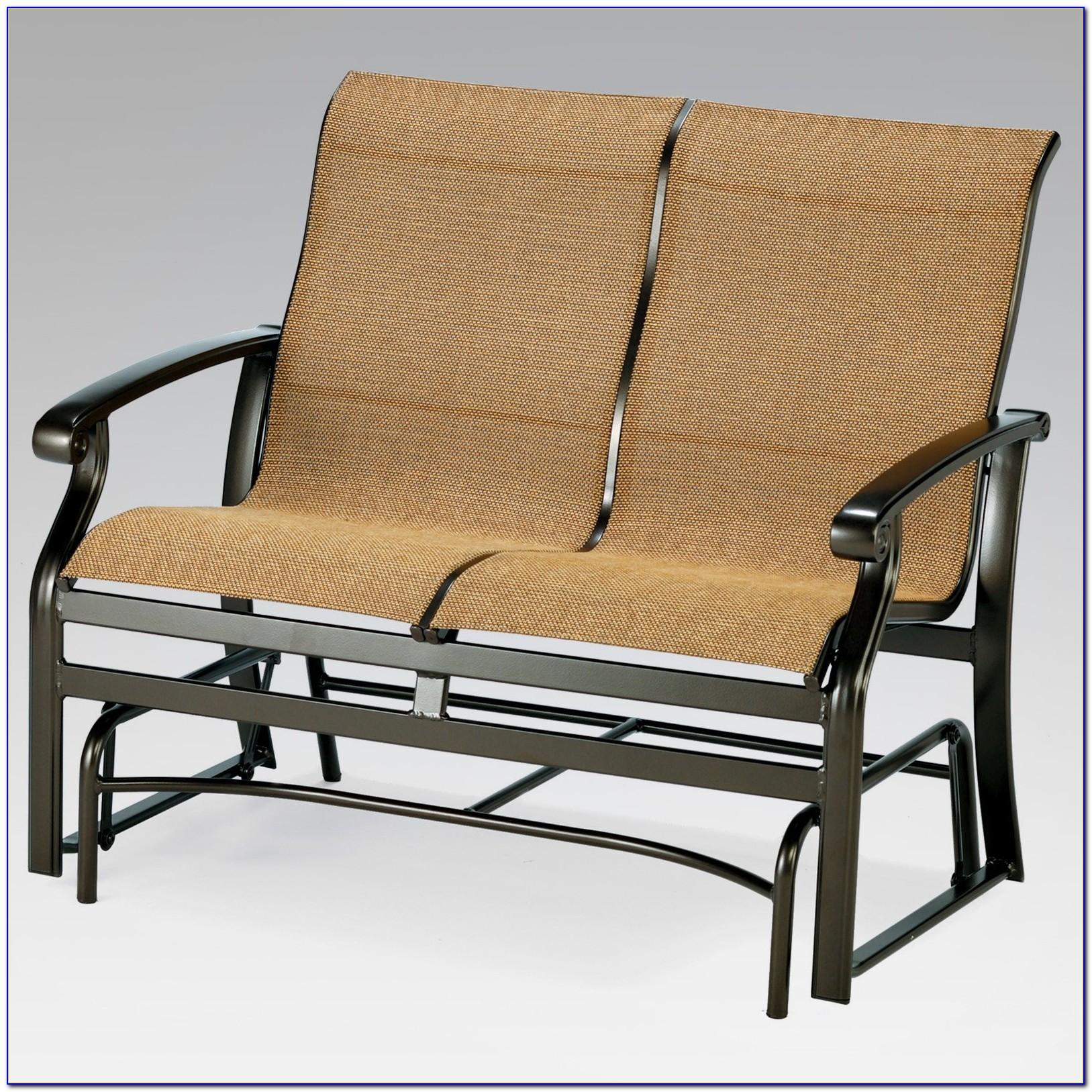 Retro Glider Patio Chairs