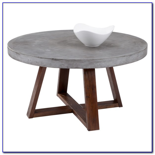 Round Wrought Iron Patio Coffee Table