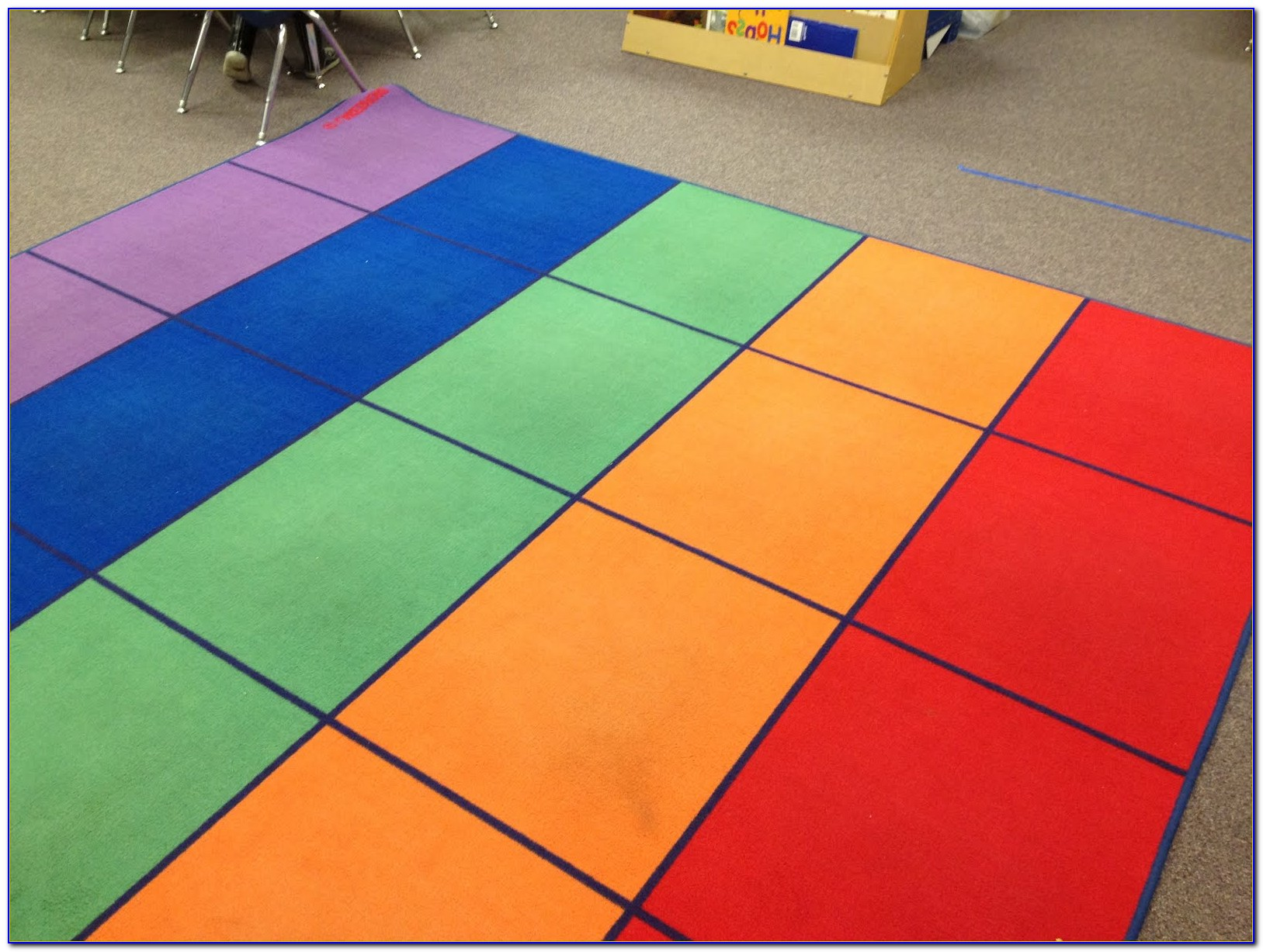 Rugs For Classrooms With Squares