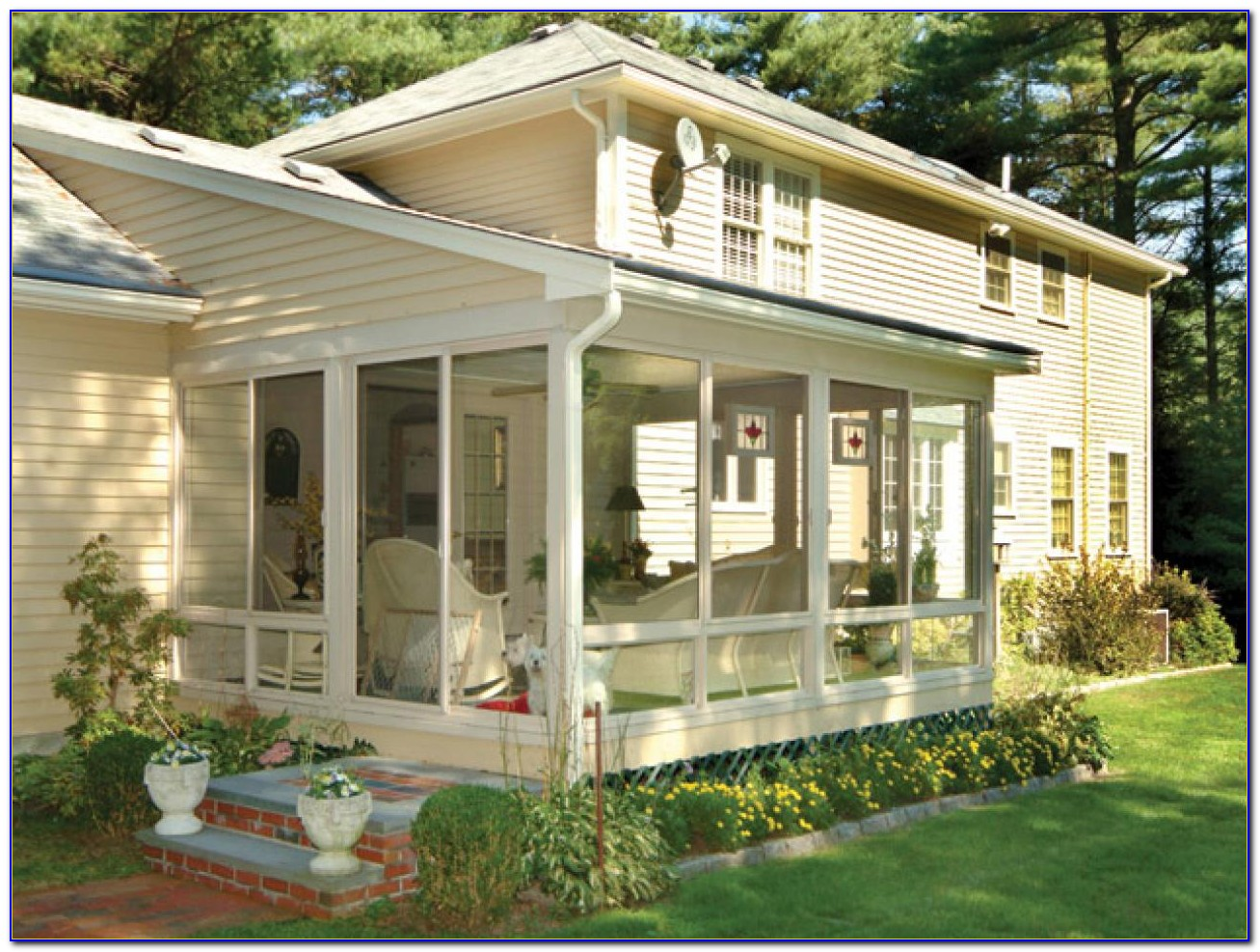 Screened Porch Ideas Houzz