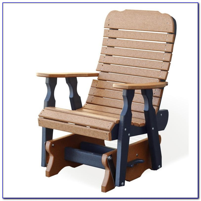 Single Glider Patio Chairs