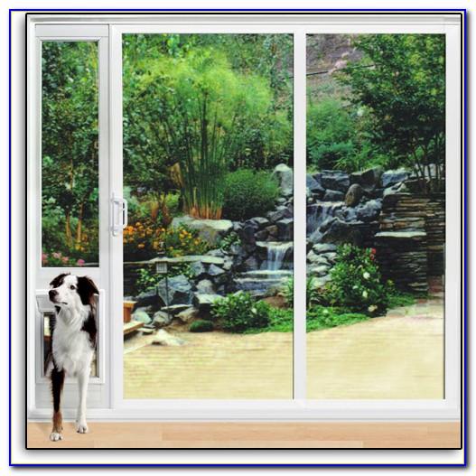 Sliding Door Doggie Door Attachment