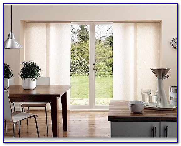 Sliding Door Window Treatment Ideas
