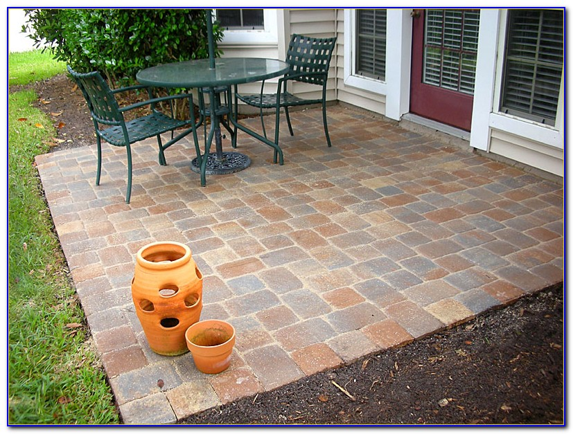 Small Patio Designs With Pavers