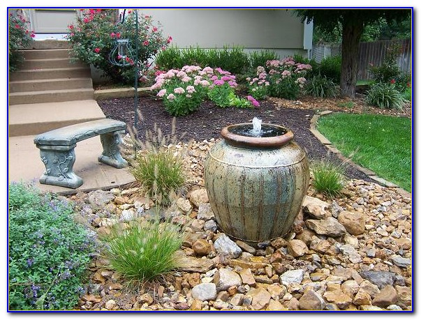 Small Patio Fountain Ideas