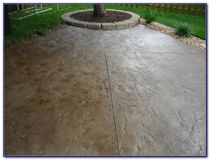 Stamped Concrete Patio Design Software
