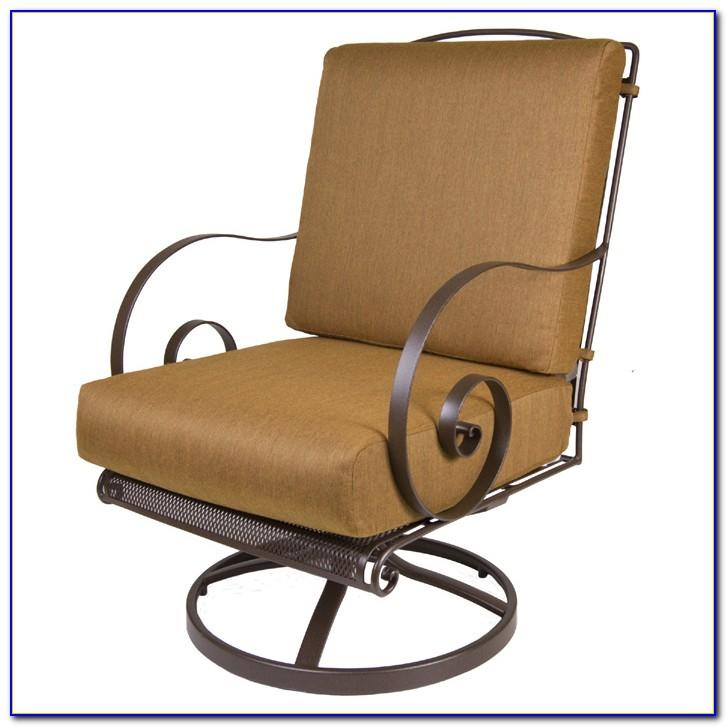 Swivel Patio Chair Set