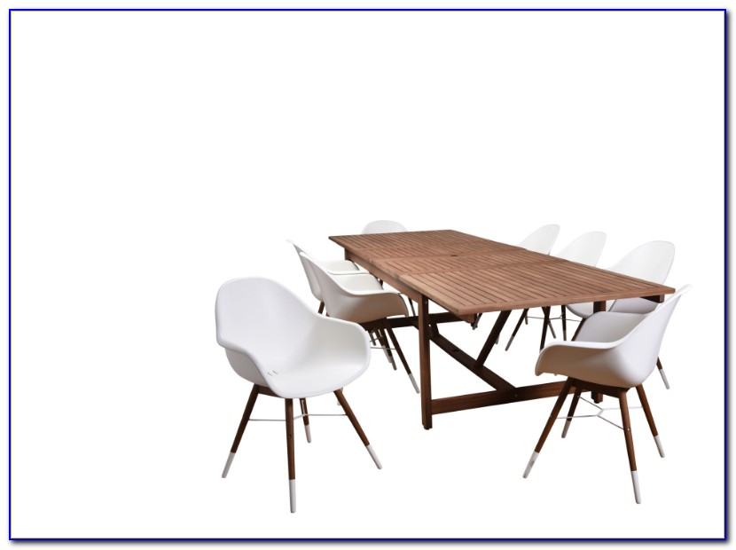 Symphony Extendable Patio Dining Table