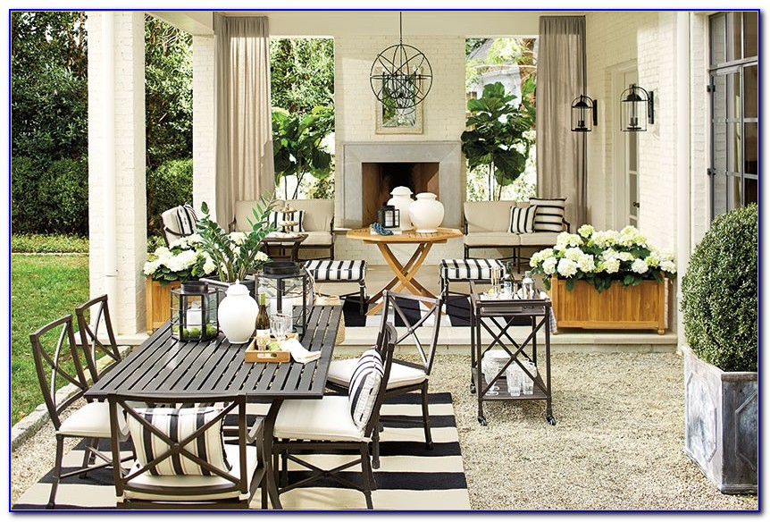 Target Black And White Outdoor Cushions
