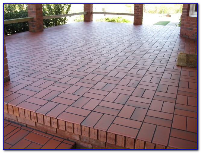 Tile Over Concrete Patio