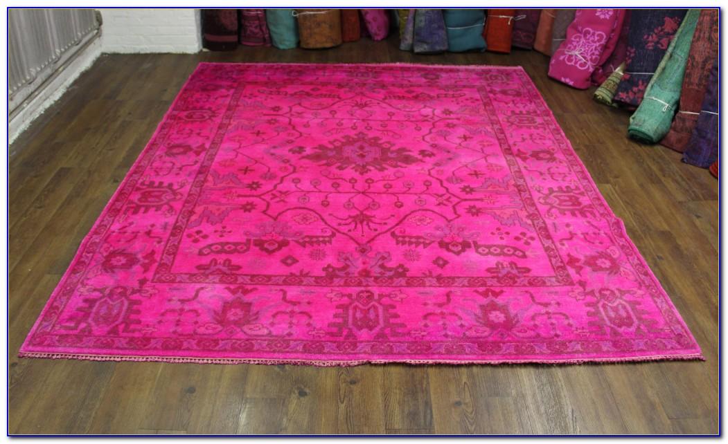 Vintage Pink Persian Rug