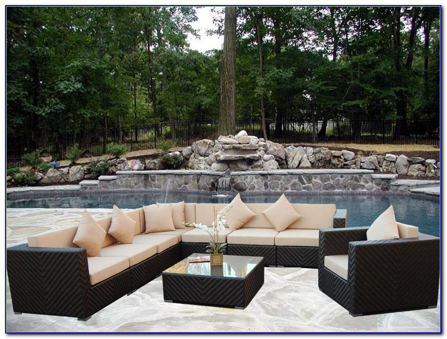 Wicker Outdoor Patio Furniture Cushions