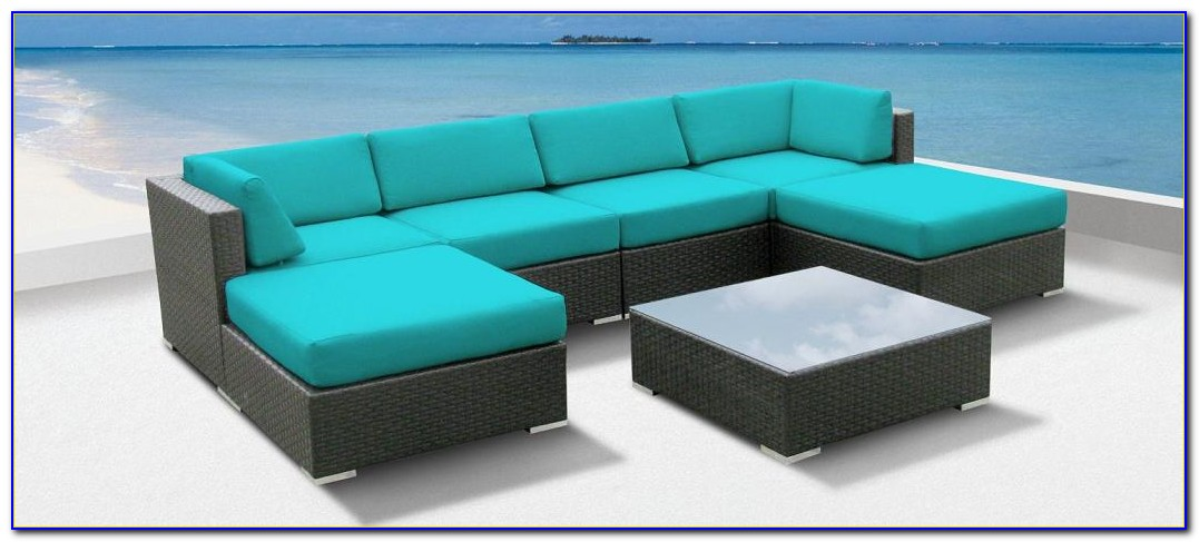 Wicker Outdoor Sectional Set