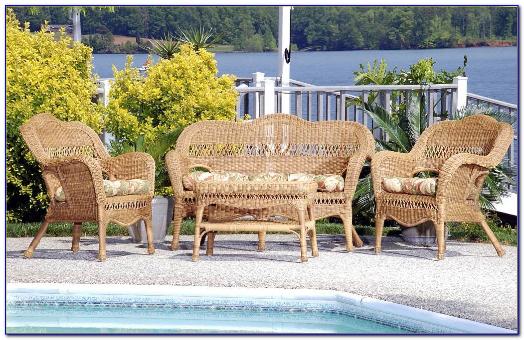 Wicker Outdoor Sofa Furniture Lounge