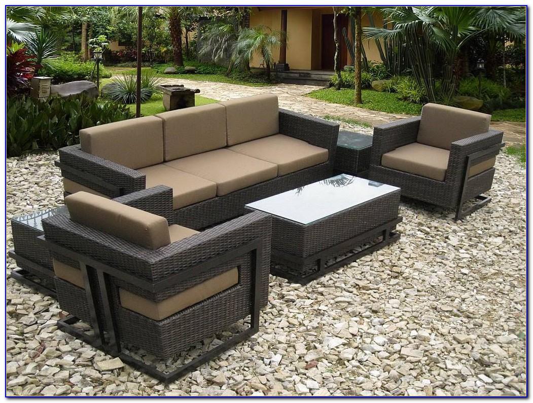 Wicker Outdoor Sofa Lounge