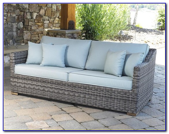 Wicker Patio Couch Cushions