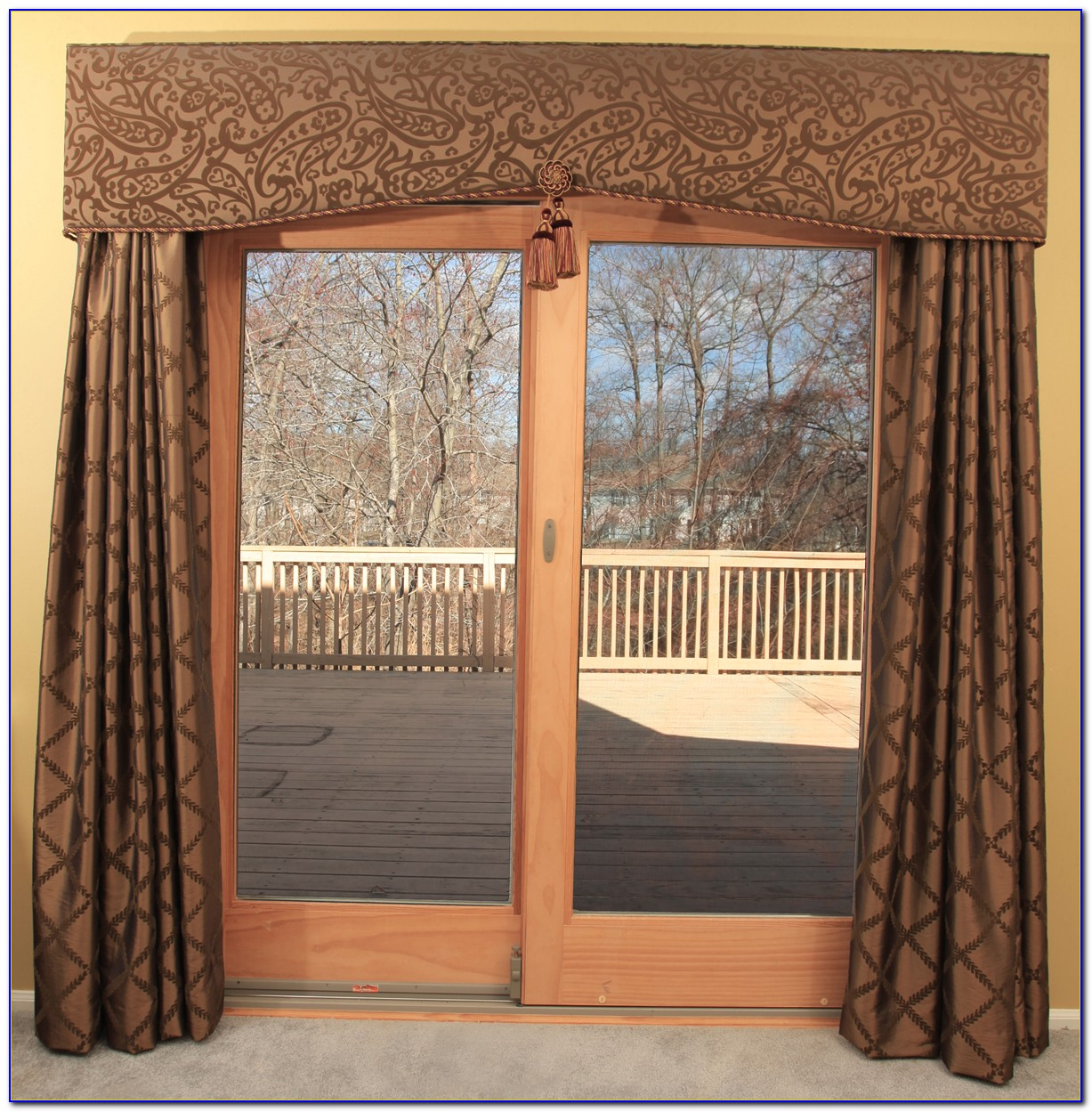 Window Coverings For Large Patio Doors
