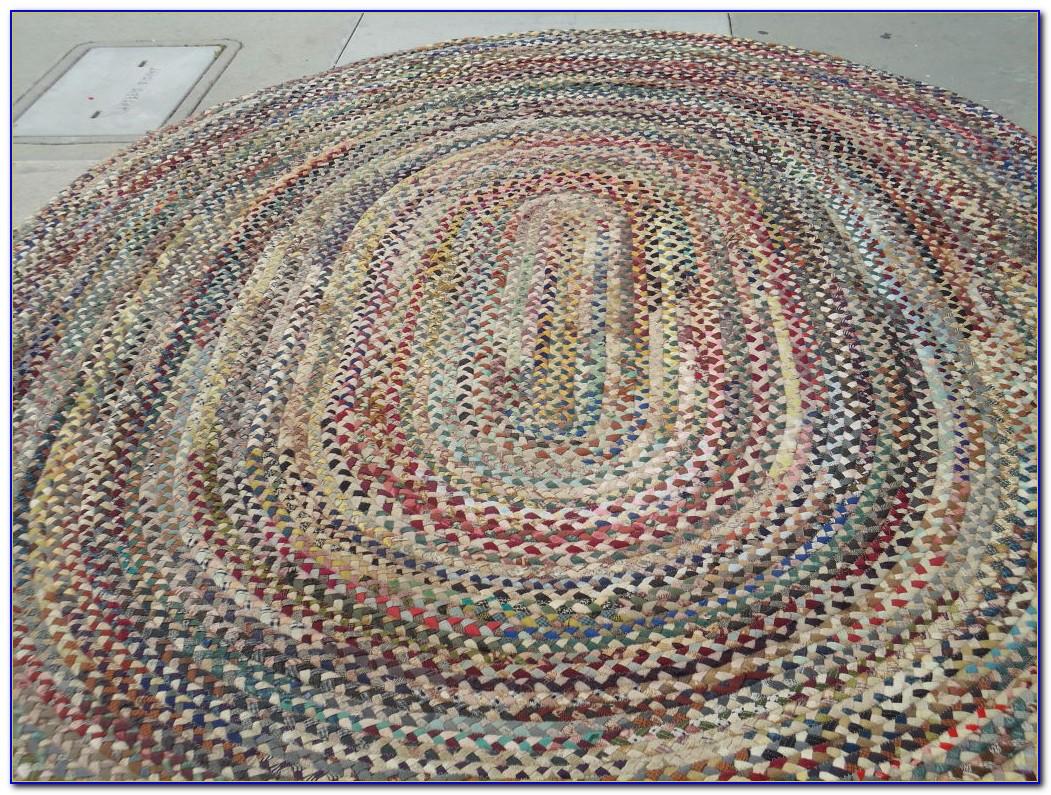 Wool Braided Rugs Ebay