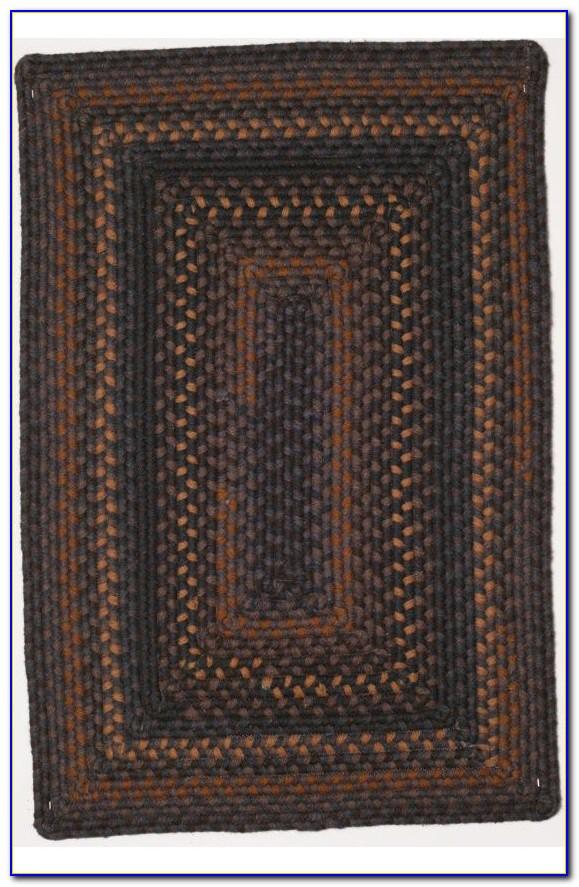 Wool Braided Rugs Round