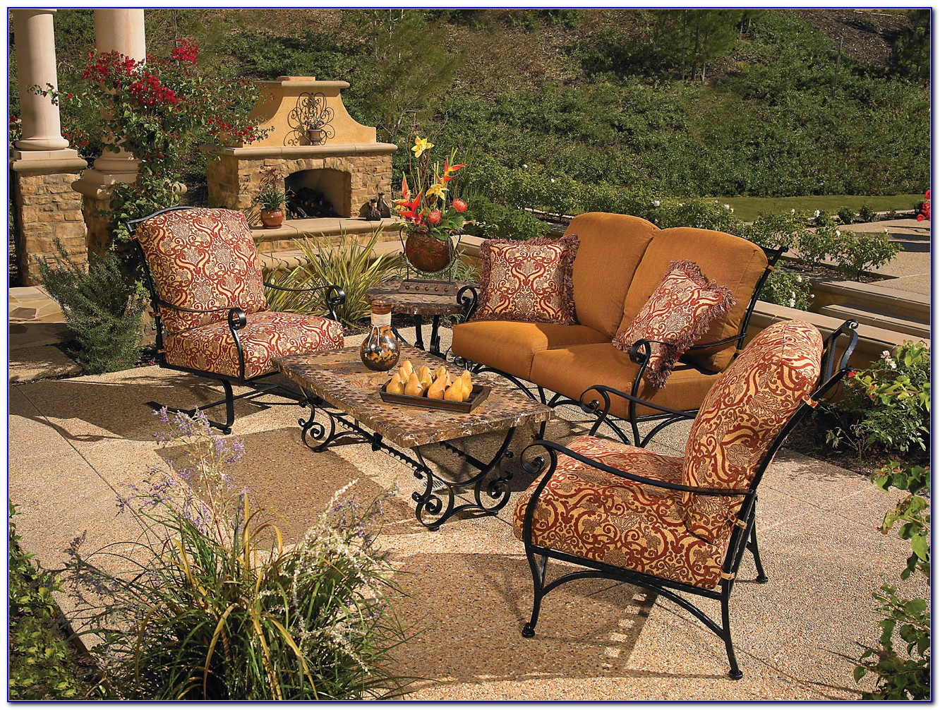 Wrought Iron Patio Tables And Chairs