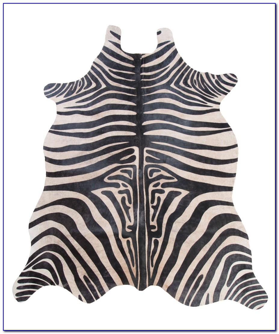 Zebra Cowhide Rug Uk