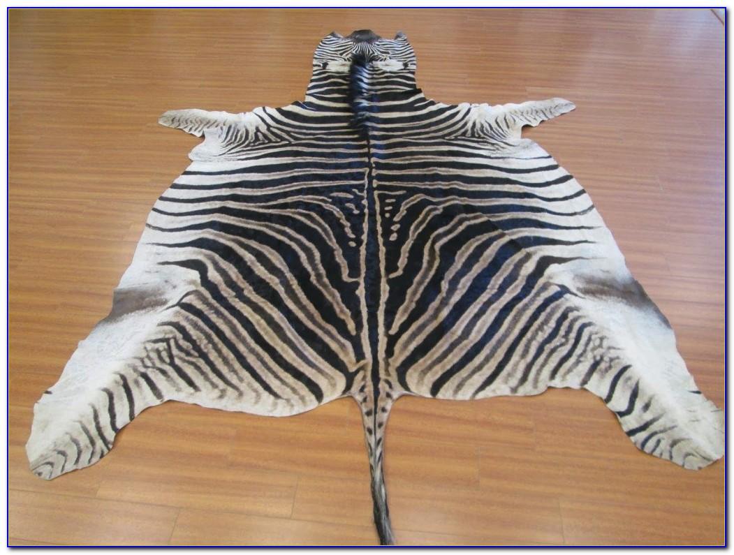 Zebra Hide Rug Australia