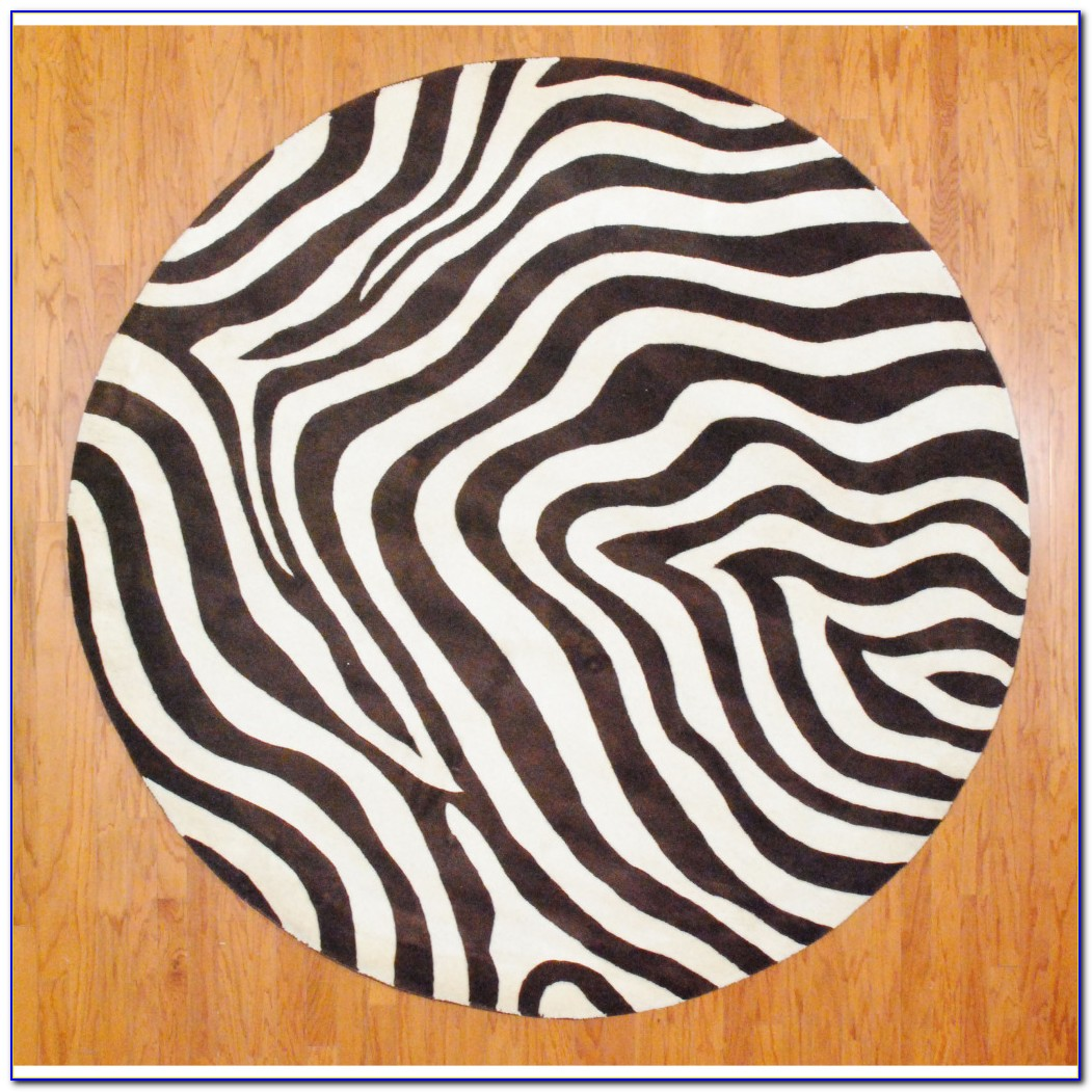 Zebra Print Rug West Elm