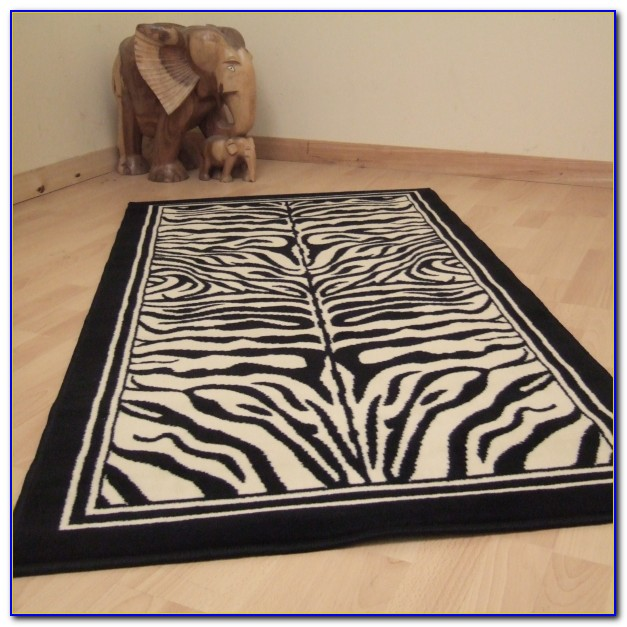 Zebra Print Rugs Uk