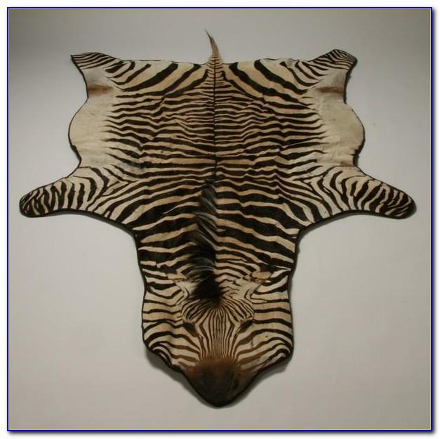 Zebra Skin Rug Johannesburg