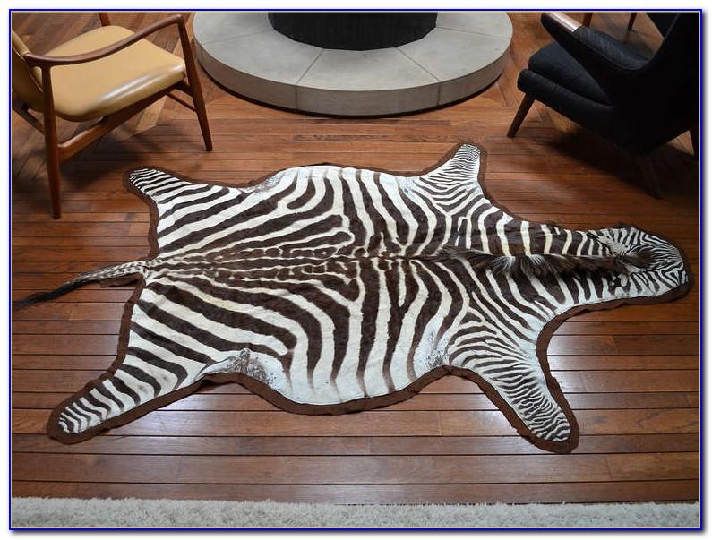 Zebra Skin Rug Uk