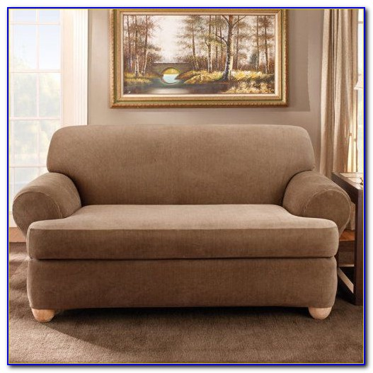 2 Piece Sofa Slipcover Cotton