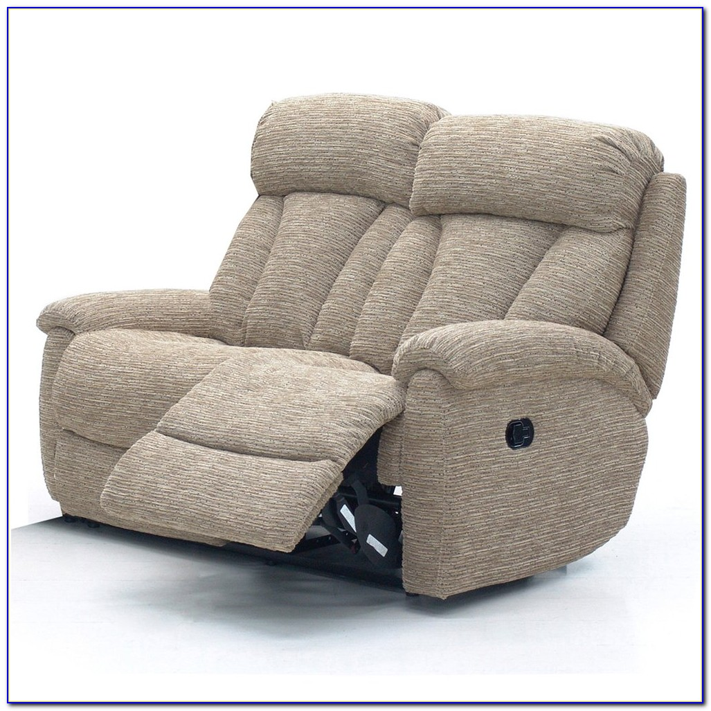 2 Seater Recliner Sofa With Console