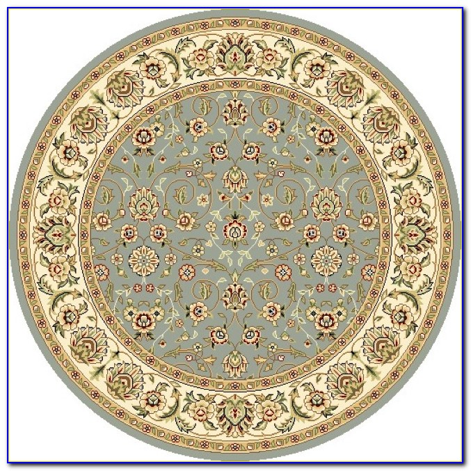 4 Foot Round Bath Rugs