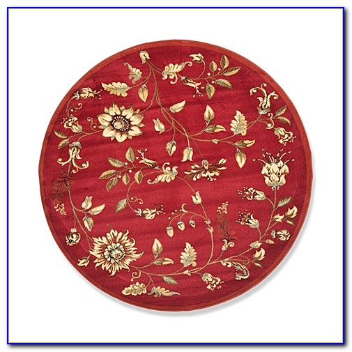 5 Ft Round Wool Rugs